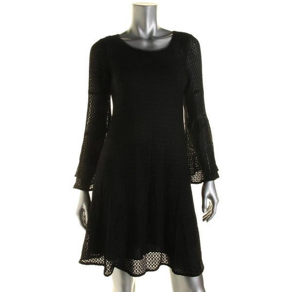 Shop Nanette Lepore Womens Party Dress Textured Bell Sleeves - 2 - Free  Shipping Today - Overstock.com - 18850707 0a32d6064965