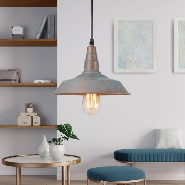"""The Gray Barn Heavenly Winds 1-light Kitchen Island Pendant Hanging Lights - D 10.2"""" X H 6.3"""". Opens flyout."""