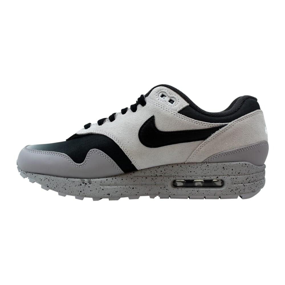 Nike Air Max 1 Premium Pure PlatinumBlack Wolf Grey 875844 003 Men's