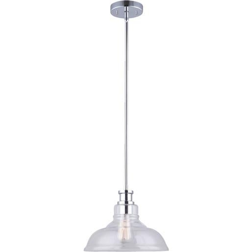 Shop Canarm Imports 100W Chrom Pendant Light IPL399B01CH-B