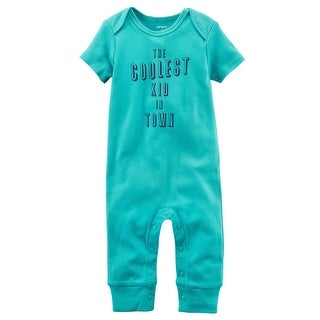 Carter's Baby Boys' Coolest In Town Jumpsuit 3M