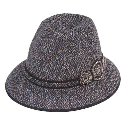 Womens Winter Sun Hat w/ Buckle