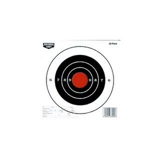 Birchwood casey 37826 b/c target eze-scorer paper 8 bull's-eye 26 targets