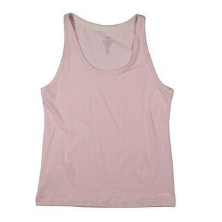 Calvin Klein Womens Pajama Top Knit Sleeveless - L