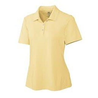 Cutter & Buck Ladies Kingston DryTec Pique Polo (Option: MEDIUM - Pale Yellow)