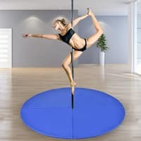 Costway Foldable Pole Dance Mat Yoga Exercise Safety Dancing Cushion Crash Mat 2'' Thick