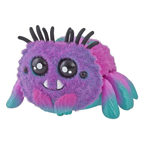 Yellies! Voice & Sound Activated Electronic Spider Pet - Toofy - Multi