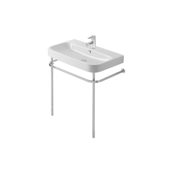 Duravit 0030781000 Happy D.2 Metal Console with Adjustable Height - Chrome