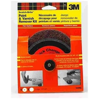 Scotch-Brite 9420NA Flat Surface Paint & Varnish Remover Kit 5""