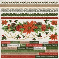 """Letters To Santa Cardstock Stickers 12""""X12""""-"""