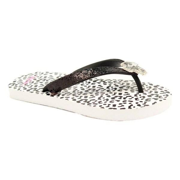 Blazin Roxx Western Shoes Womens Maddie Flip Flop Leopard
