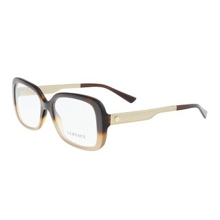 Versace VE3241 5205 Havana/Light Brown Rectangle Optical Frames - 54-17-140