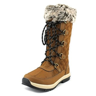 Bearpaw Gwyneth   Round Toe Suede  Winter Boot