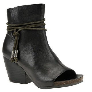 OTBT Vagabond Women's Boot - Black leather - 8.5