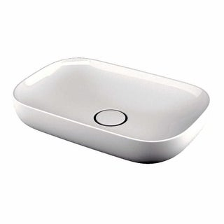 "WS Bath Collections Vision 6260 Vision 23-3/5"" Vessel Bathroom Sink"