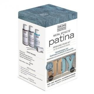 Modern Masters® 306291 Metal Effects® Blue Patina Oxidizing Finish Kit, 2 Oz