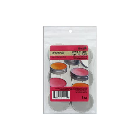 Life/Party Lip Balm Tins 6pc