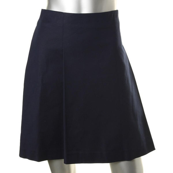 Lauren Ralph Lauren Womens A-Line Skirt Pleated A-Line