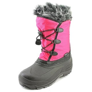 Kamik Powdery Round Toe Canvas Snow Boot
