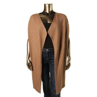 Nic + Zoe Womens Cable Knit Open Front Cardigan Sweater