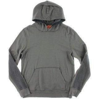 Boss Orange Mens Jersey Long Sleeves Hoodie - M