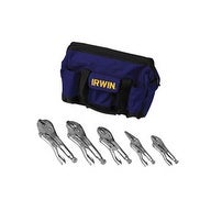 IRWIN VISE-GRIP 2077704 The Original Locking Pliers With Knife, 5Pc