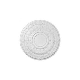 """Ekena Millwork CM33DA 33.875"""" Wide Dauphine Ceiling Medallion"""