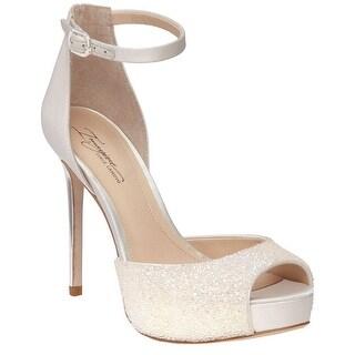 Imagine Vince Camuto Karleigh Open Toe High Heel Pumps - 9 b(m)