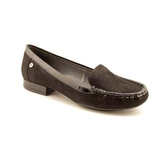 Calvin Klein Fanna Women  Moc Toe Suede  Loafer