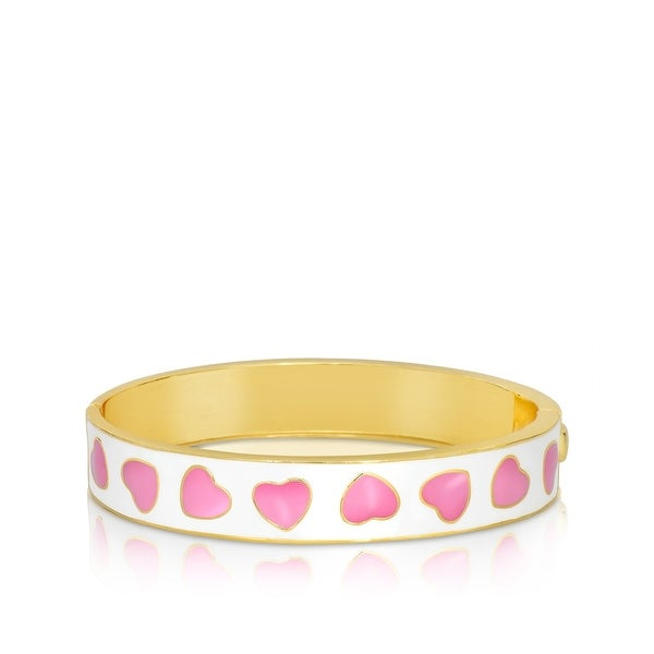 Lily Nily Girl's Heart Pattern Bangle