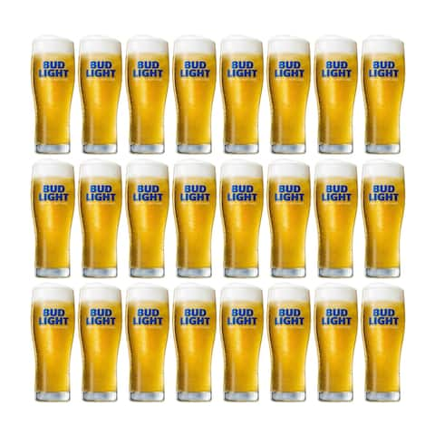 BudLight Signature Glass (Set of 24)