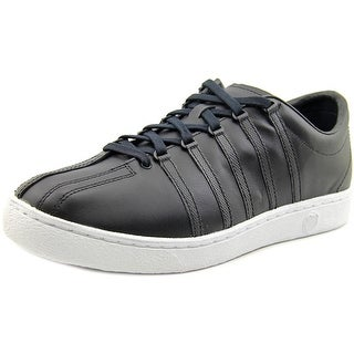 K-Swiss Classic 66 Men  Round Toe Leather Black Tennis Shoe