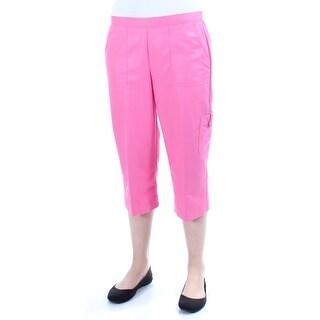 Womens Pink Bermuda Short Petites Size 6