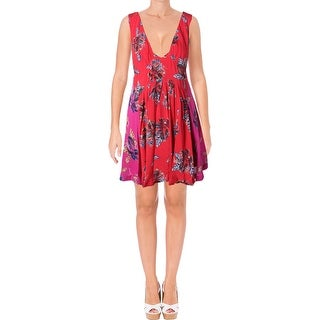 Free People Womens Thought I Was Dreamin Casual Dress Sleeveless Pullover