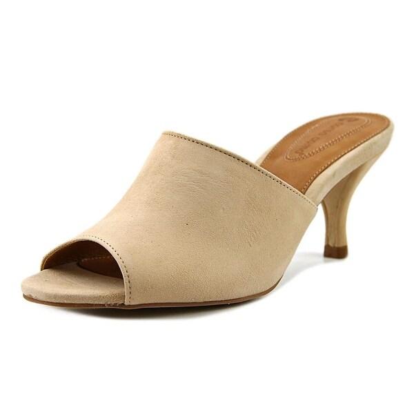 Corso Como Coral Women Open Toe Suede Nude Sandals