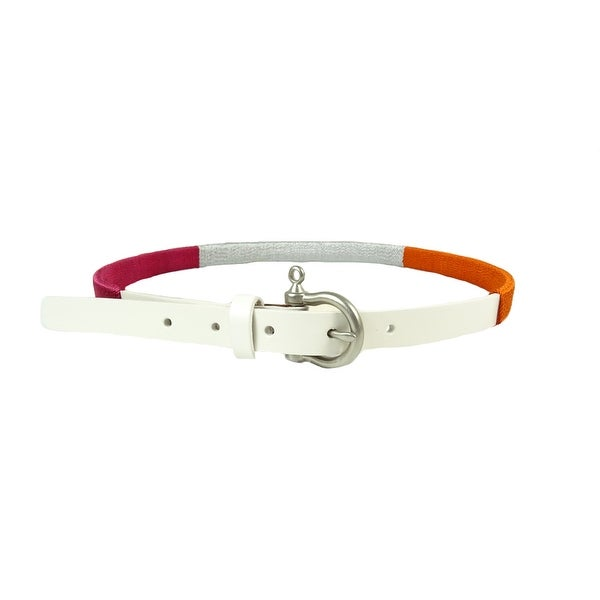 Sperry Top-Sider Women's Colorblocked Thread Wrapped Belt - Multi