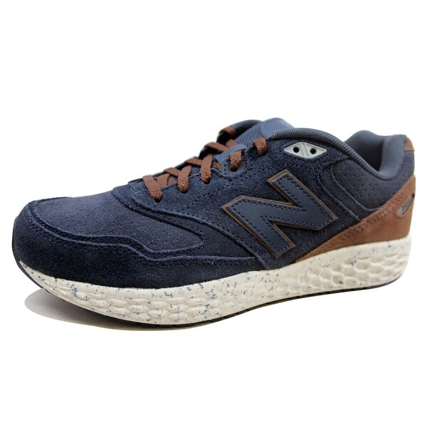 New Balance Men's 988 Navy Blue/Brown M998OF