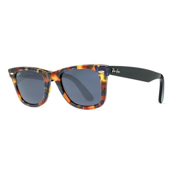Ray Ban RB2140 1158/R5 50mm Brown Blue Fleck Tortoise Black Sunglasses - brown/blue fleck tortoise and black - 50mm-22mm-150mm