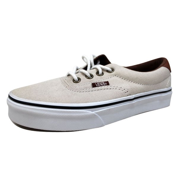 Vans Men's Era 59 Khaki/True White Oxford And Leather VN0003S4IHE Size 4.5