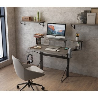 Link to Jamesdar Carnegie Computer Gaming Desk Similar Items in Home Office Furniture