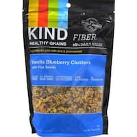 Kind Fruit and Nut Bars - Healthy Grains Vanilla Blueberry Clusters With Flax Seeds ( 6 - 11 OZ)
