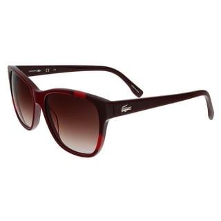 Lacoste L775/S 604 Burgundy Wayfarer sunglasses Sunglasses