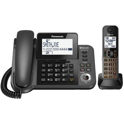 Panasonic Consumer - Kx-Tgf380m - Corded Phone W1 Cordless Hdset