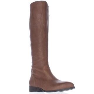 Nine West Nicolah Tall Riding Boots - Cognac