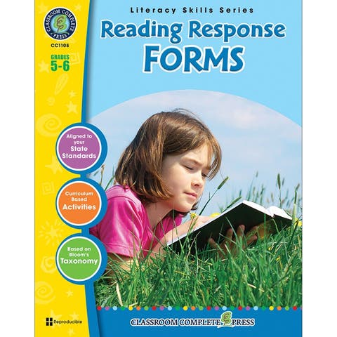 (3 Ea) Reading Response Forms Grs 5-6