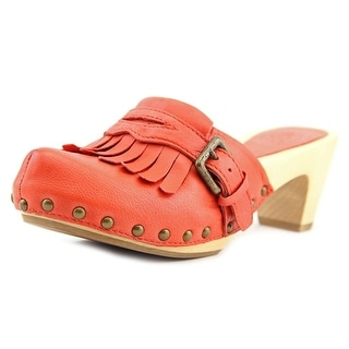 Ash Tamtam Round Toe Leather Clogs