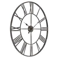 Aspire Home Accents 5155 Solange Round Metal Wall Clock