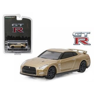 2016 Nissan GT-R (R35) Gold Edition GT-R 45th Anniversary Collection 1/64 Diecast Model Car by Greenlight