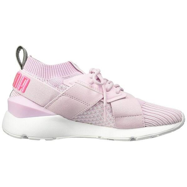Shop PUMA Women's Muse Evoknit Sneaker