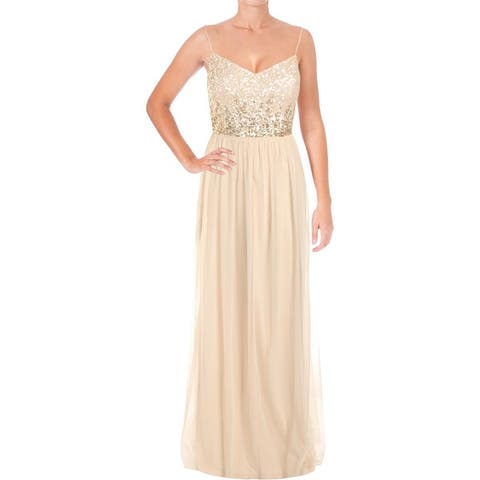 72e9c9ccdd1 Adrianna Papell Womens Evening Dress Sequined Party
